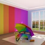Połączenie lateksu i klasycznej farby