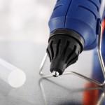 Szybki sposób na naprawę (kleje termotopliwe)